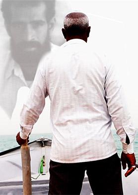«حسین رامبو» در مبارزه با دریا
